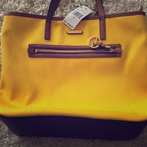 Michael Kors Sunflower Tote